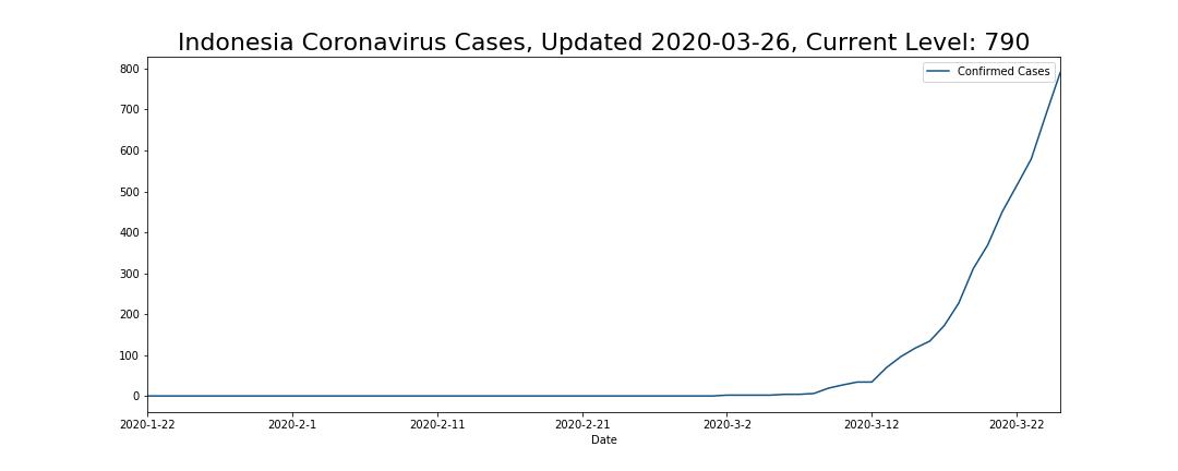 Indonesia Coronavirus Cases